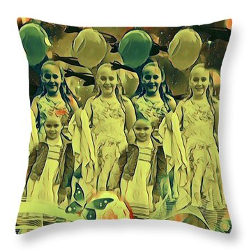 Love In The Age Of War Throw Pillow