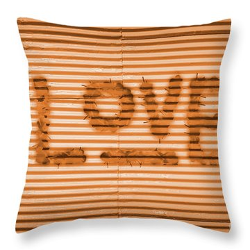 Love Is All Throw Pillow
