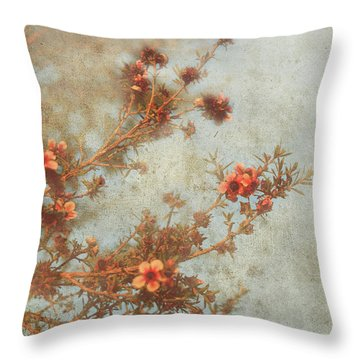 Love Is In Bloom Throw Pillow