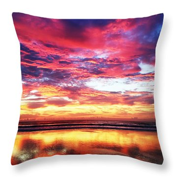Throw Pillow featuring the photograph Love Is Real by LeeAnn Kendall