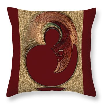 Love Is... Throw Pillow by Paula Ayers