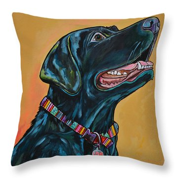 Love Lab Throw Pillow