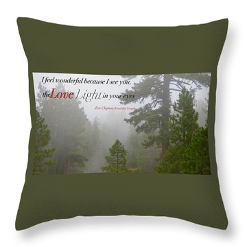 Love Light Throw Pillow