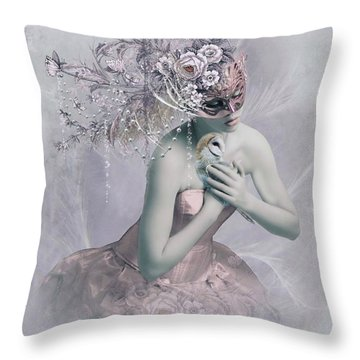 Love Me Tender Throw Pillow