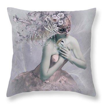 Love Me Tender Throw Pillow