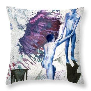 Love Metaphor - Drift Throw Pillow