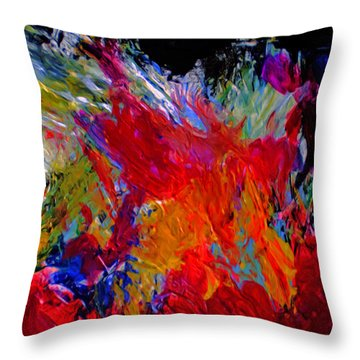 Love Throw Pillow by Michael Durst