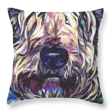 Love My Wheatie Throw Pillow
