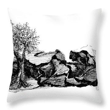 Love Nest Throw Pillow