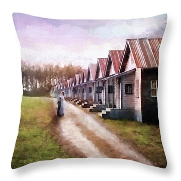 Love Never Fails - Hope Valley Art Throw Pillow by Jordan Blackstone