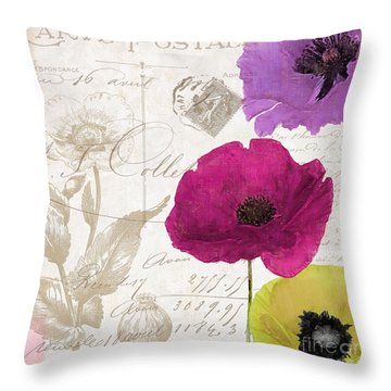 Love Notes I Throw Pillow