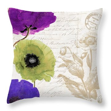 Love Notes II Throw Pillow
