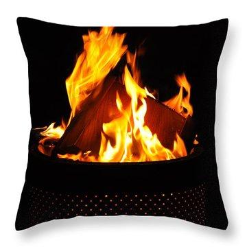 Love Of Fire Throw Pillow