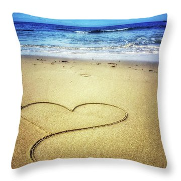 Love Of The Ocean Throw Pillow