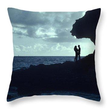 Love On The Rocks Throw Pillow