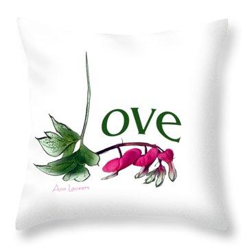 Love Shirt Throw Pillow