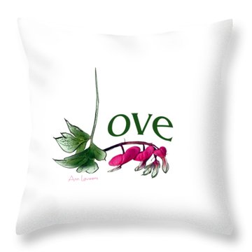 Love Shirt Throw Pillow