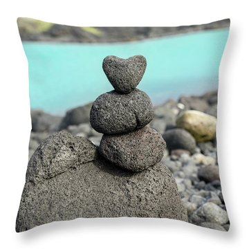 Rock My World Throw Pillow
