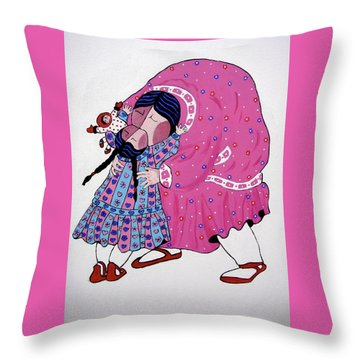 Love Throw Pillow by Stephanie Moore