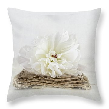 Throw Pillow featuring the photograph Love Story by Kim Hojnacki