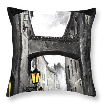 Love Story Throw Pillow by Yuriy  Shevchuk