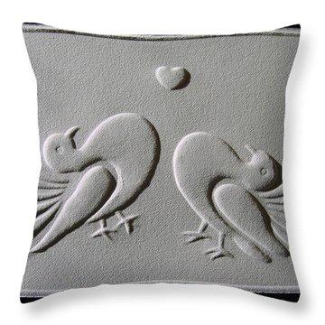 Love Throw Pillow by Suhas Tavkar