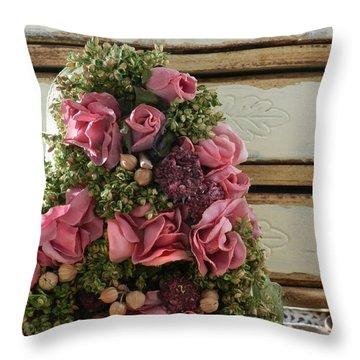Love Symbols Throw Pillow