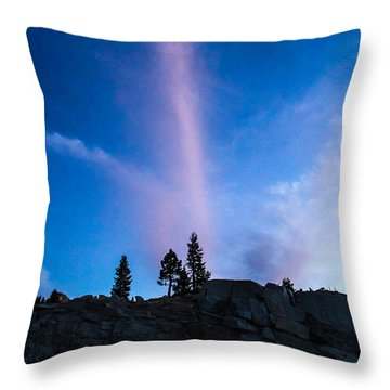 Love The Color Up High Throw Pillow by Brian Williamson