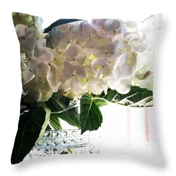 Love These Flowers! #happylaborday Throw Pillow