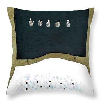 Love U Throw Pillow