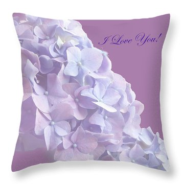 Love You Greetingcard Throw Pillow