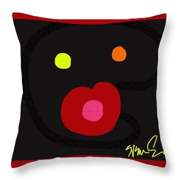 Love You With All My Heart Throw Pillow
