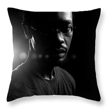 Loved. Throw Pillow