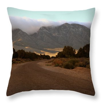 Lovel Canyon Road Throw Pillow