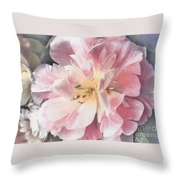 Loveliness Flower Throw Pillow