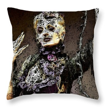 Lovely Agony Throw Pillow