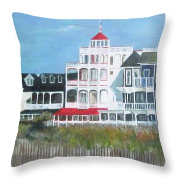 Lovely Cape May Throw Pillow