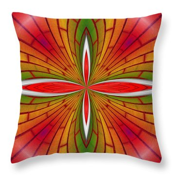 Lovely Geometric  Throw Pillow