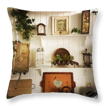 Lovely Kitchen Decoration Throw Pillow