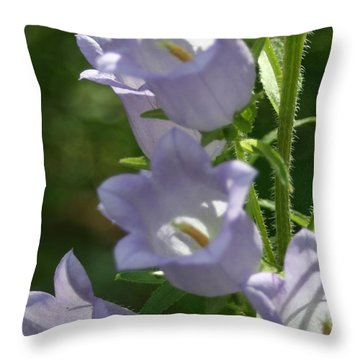 Lovely Lavendar Throw Pillow
