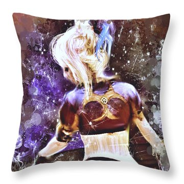 Lovely Night Throw Pillow