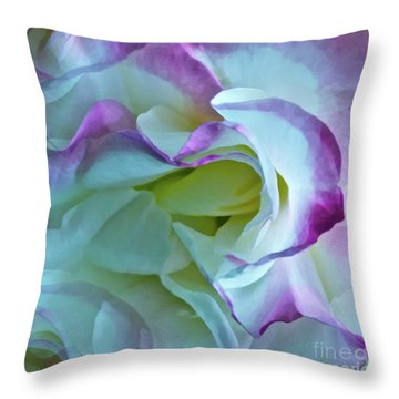 Lovely Rita Throw Pillow by Gwyn Newcombe