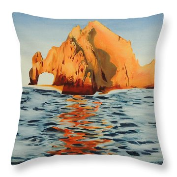 Lover's Arch Throw Pillow