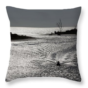 Lover's Key Sparkles Throw Pillow