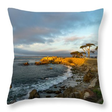 Lover's Point Throw Pillow