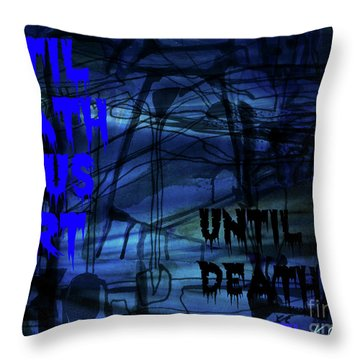 Lovers-3 Throw Pillow