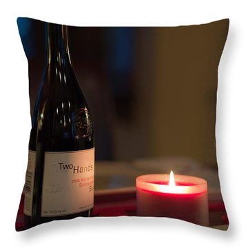 Love's Flame Burns Bright Throw Pillow by Mike Hendren