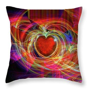 Love's Joy Throw Pillow by Michael Durst