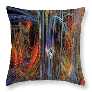 Loves Rhapsody Throw Pillow by Michael Durst