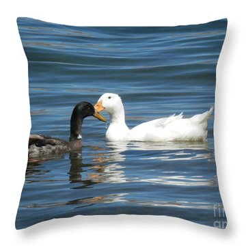 Loves Simple Way Throw Pillow